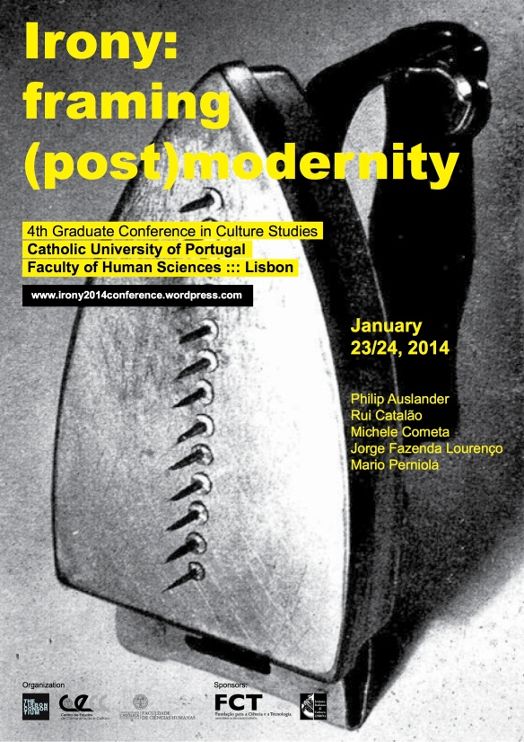 Cartaz_Irony Graduate Conference